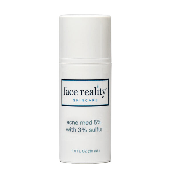 Acne Med 5% + Sulfur 3%, 1 oz