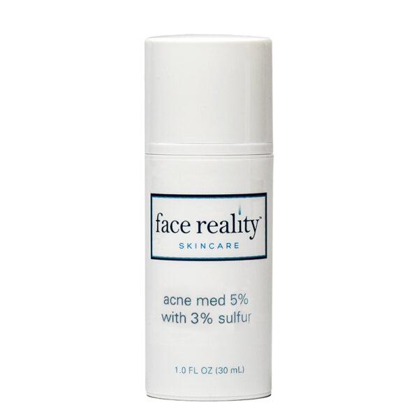 Acne Med 5% + Sulfur 3%, 1 oz