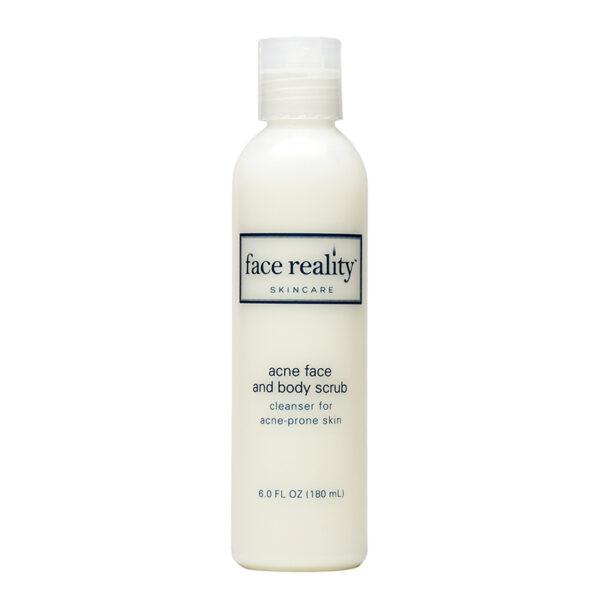 Acne Scrub Face Reality